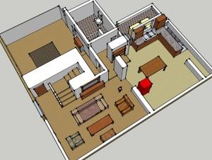 Dan and Roseanne Conner's Floor Plan: Floors Plans, Roseanne Conner, Conner Floors, Roseanne Rooms, Dreams House, Conner House, Tv Floors, House Plans, And