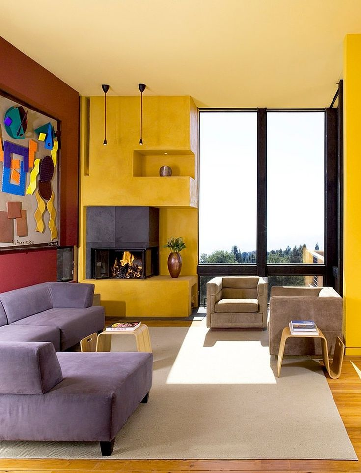 59 Best Purple And Yellow Images On Pinterest Yellow Facades And French Doors