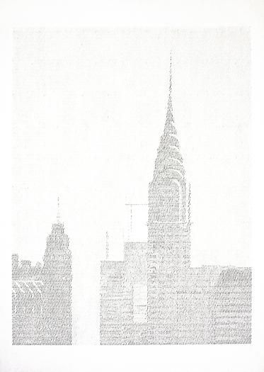 Ewan Gibbs at Richard Gray Gallery - New York, 2009 Graphite on paper 11 11/16 x 8 1/4 in. 29.7 x 21 cm