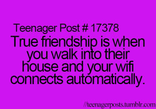 Hah, Sirena.... This is NOT just a teenager post, I get a warm fuzzy feeling when this happens too and I'm old...