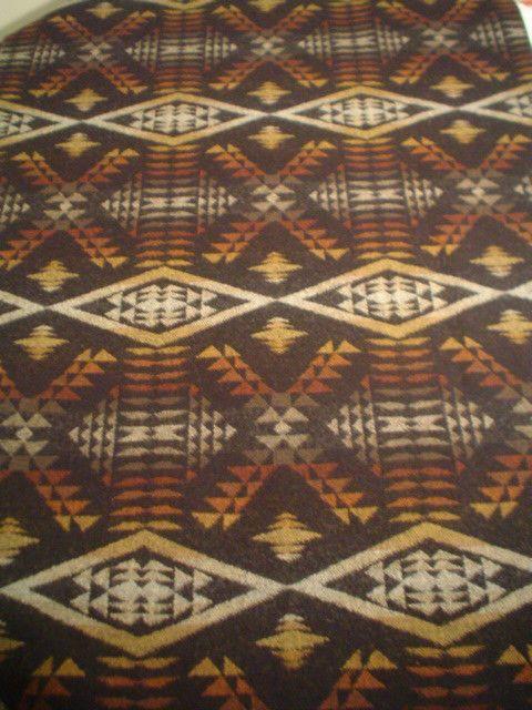 "Pendleton Wool Blanket REMNANT NEW Fabric -  21 1/2"" x 36"" -  MULTI COLORS #PendletonWool"