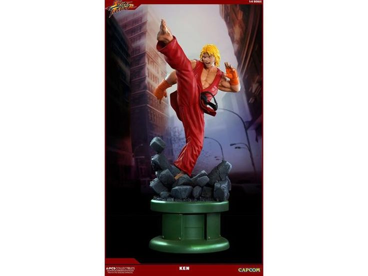 *PRE-ORDER* STREET FIGHTER 1/4 Scale Ultra Statue Ken Masters By PopCultureShock