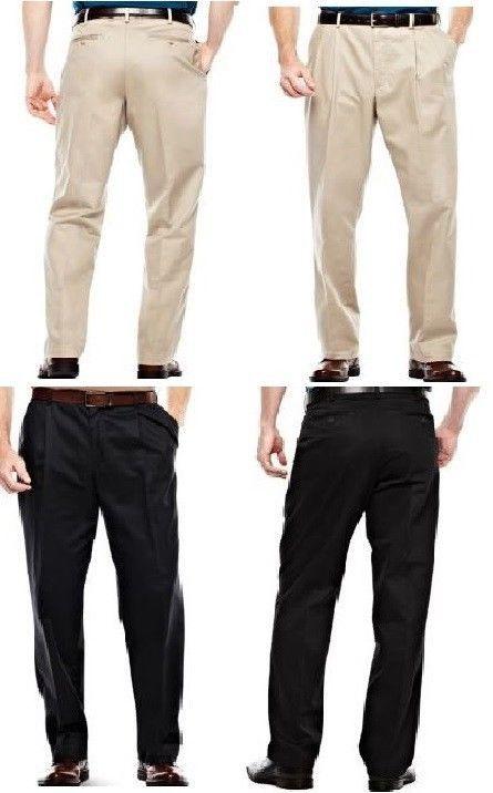 Pantalone dritto per uomo, elegante; sul davanti presenta l'abbottonatura e le pince, mentre, sul dietro presenta tasche a taglio.