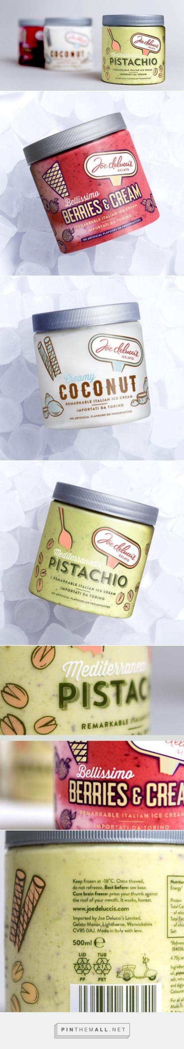 Gelato Ice Cream Packaging Design