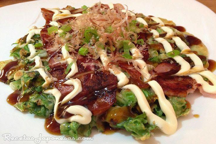 Okonomiyaki | Recetas Japonesas en español!