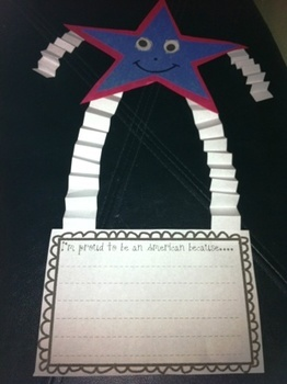 Memorial Day craft!!!  This will be perfect to keep my kids busy that last week of school ;)