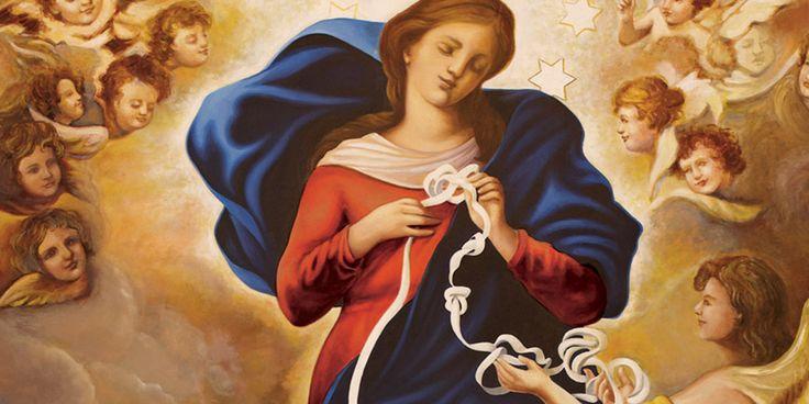 Nei momenti bui o di disperazione, il credente può contare sull'aiuto di sua Madre, la Vergine Maria. Ecco la preghiera che in queste situazioni consiglia Papa Francesco.  Vergine Maria, Madr…