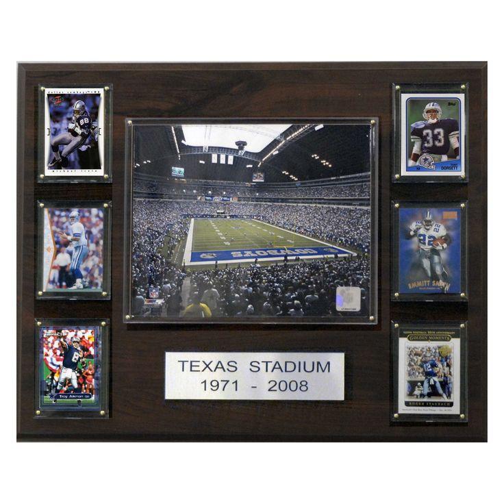NFL 16 x 20 in. Texas Stadium Plaque - 1620TEXSTAD