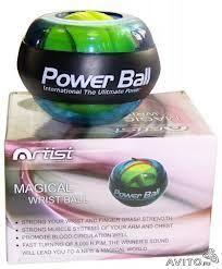Эспандер кистевой Power Ball HG3239 (светящийся)