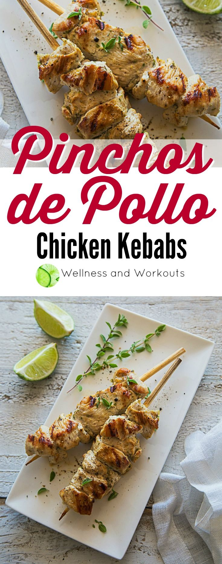 This Pinchos de Pollo recipe is great for a dairy-free, keto-paleo/low-carb menu. It also offers an AIP (Autoimmune Paleo) option!