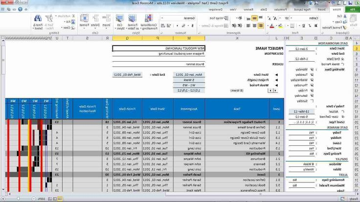 Excel Project Management Template Excel Invoice Template - fake payslip template