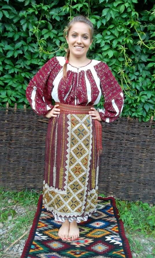 Costum popular Muscel # Costume Populare Vechi, Romania