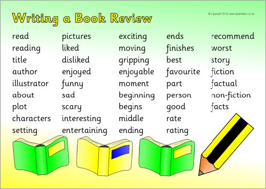 writing a book summary