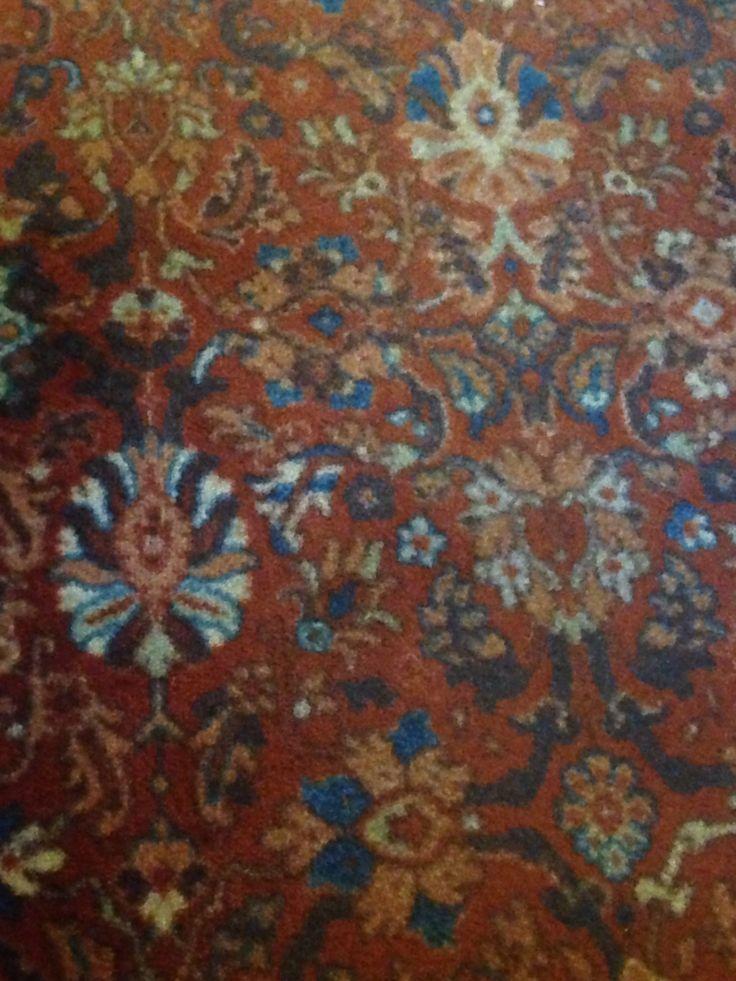 The Leigham Arms pub carpet, Streatham, London.