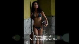 Best Fantasy Football site on the web.  You can play all you want for Free, or you can  play for money which makes it a little more exciting.