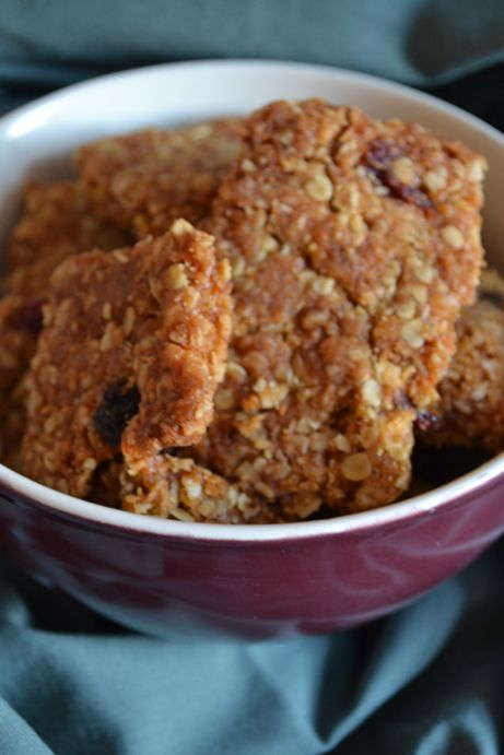 Quick, easy Apricot & Cranberry crunchies