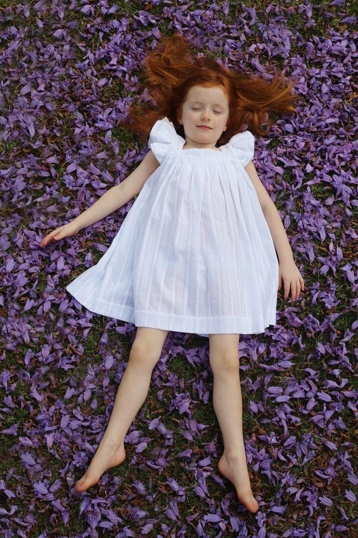 "My Christmas Angel.  The ""Amelie Dress"" #handmade #girls dresses"