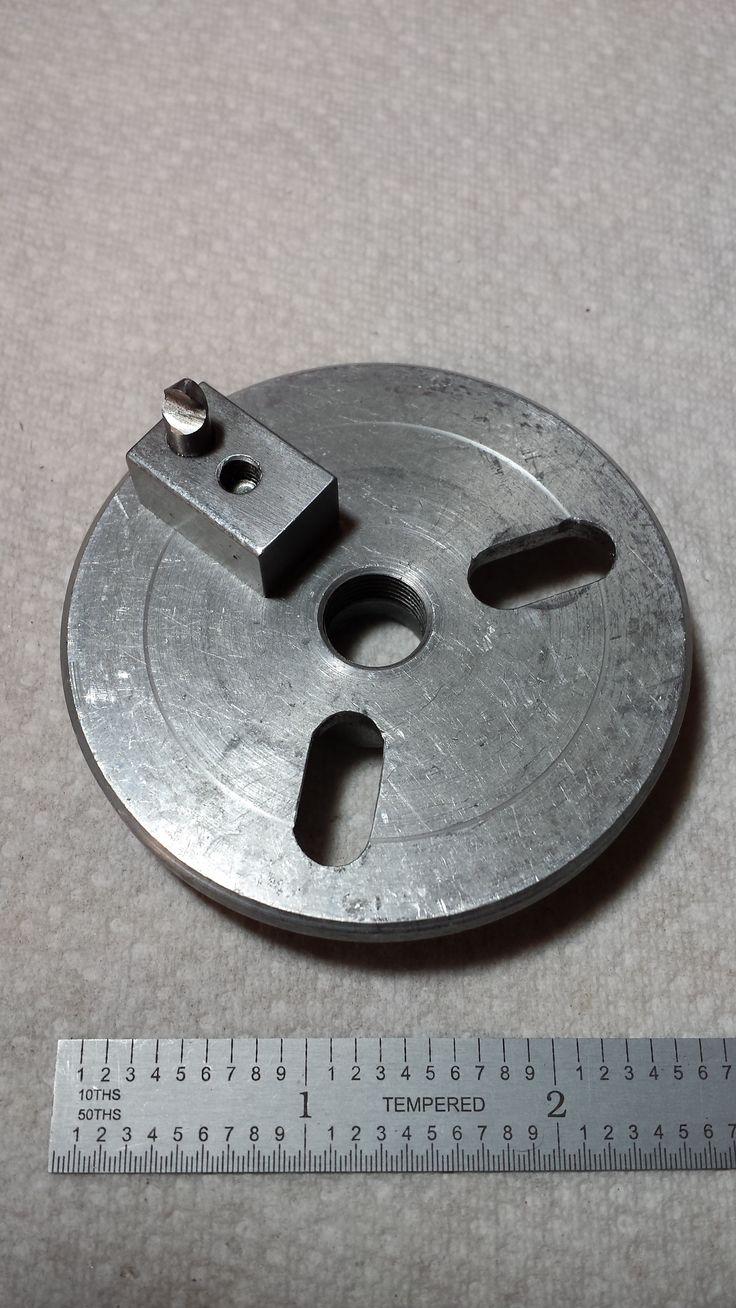 Lathe Faceplate Fly Cutter Attachment Homemade Lathemetal
