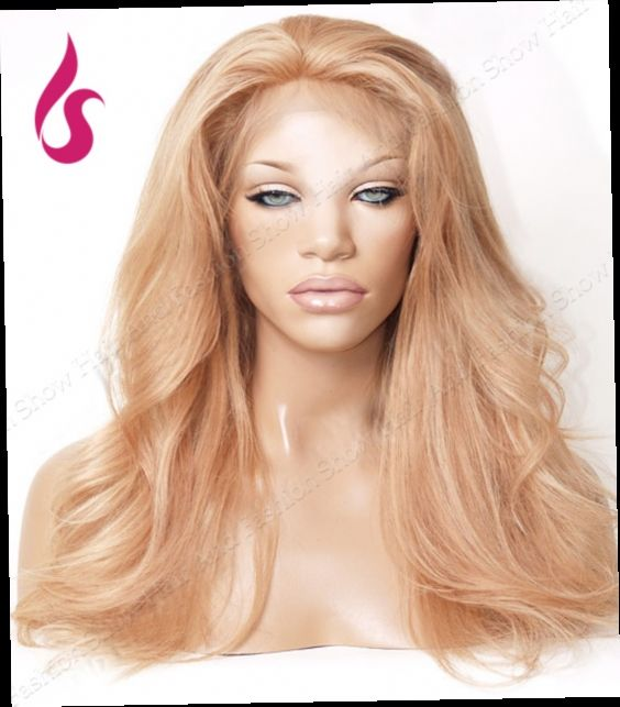 44.99$  Buy now - http://aliib8.worldwells.pw/go.php?t=32466570047 - Light Blonde Loose Wave Synthetic Hair Lace Front Wig Cheap Hair Dye Wig! 44.99$