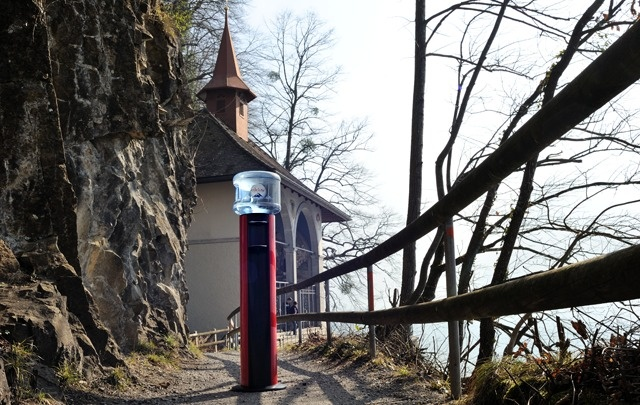 HOME 11L Cooler between Sisikon and   Fluelen at the Guillaume Tell's chapel - Uri