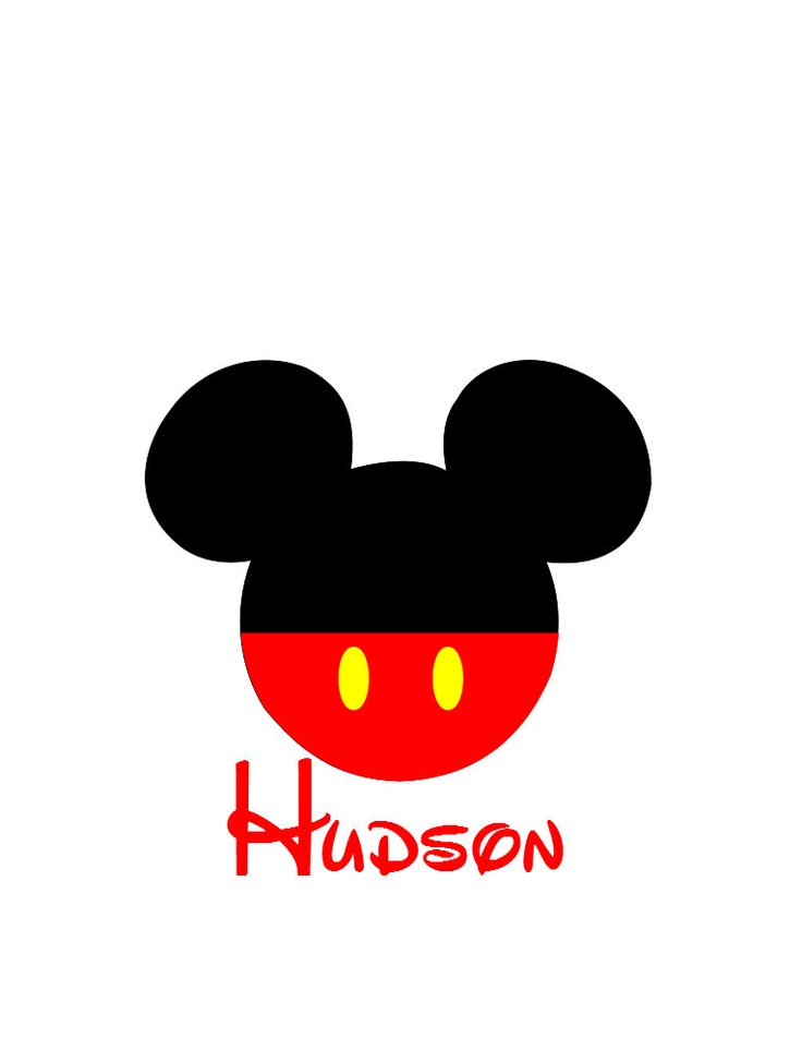 It's just a graphic of Enterprising Mickey Mouse Decals for Shirts