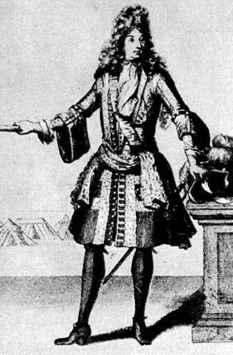 Барокко мужской костюм