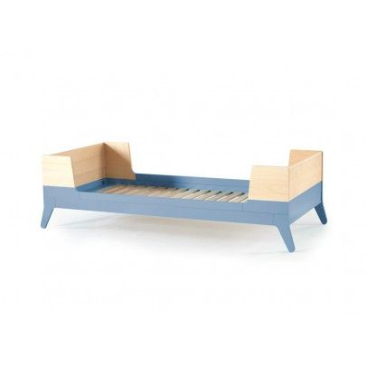 Nobodinoz Single Bed 90x200 cm - Blue 90x200 Details : Mattress not included, 2 packages * Fabrics : Beech Wood, MDF * Composition : non toxic paint, Watercolour paints * Color : Blue * Height : 60.5 cm, Length : 215 cm, Width : 96.5 cm, For a m http://www.MightGet.com/january-2017-13/nobodinoz-single-bed-90x200-cm--blue-90x200.asp