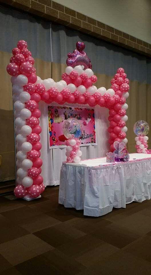 Best 25 princess balloons ideas on pinterest - Princess party wall decorations ...