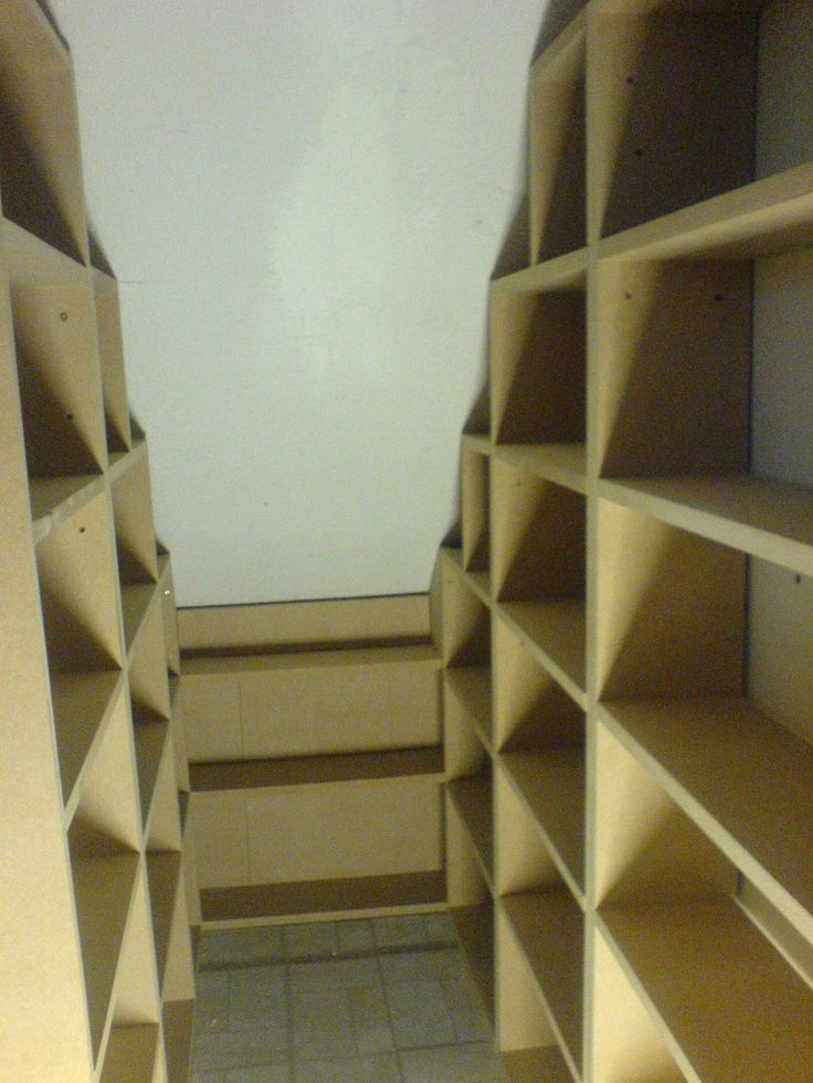 In the process of creating a big storage cupboard under the attic stairs. It will need shelves!