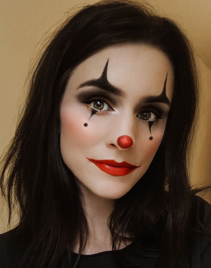 Easy Clown Halloween Makeup Clown Halloween Makeup in