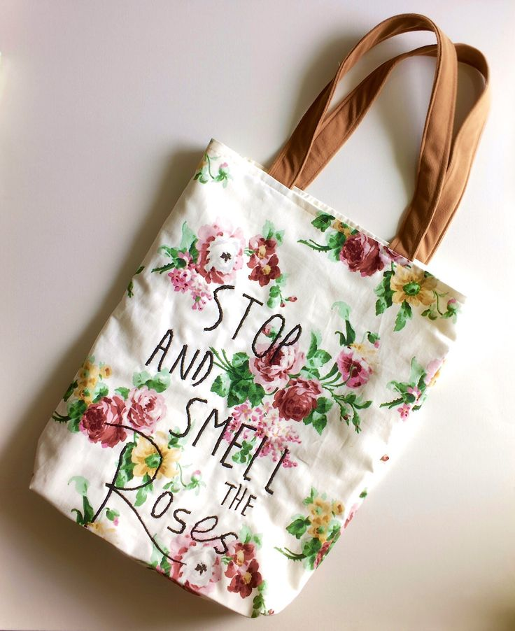 A personal favorite from my Etsy shop https://www.etsy.com/ca/listing/507693993/stop-and-smell-the-roses-embroidered-and