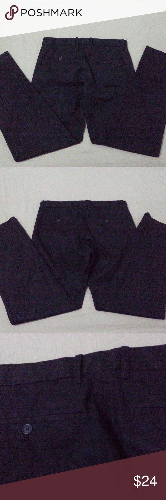 New Mens Gap Khaki Dress Pants x Black Slack Chino