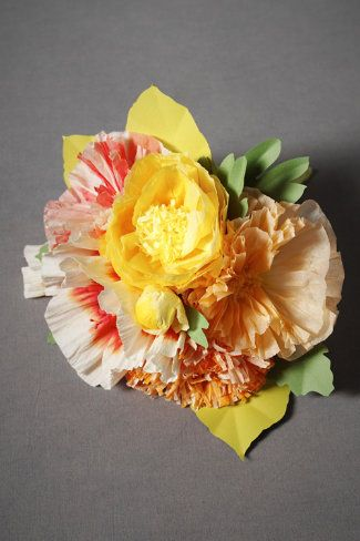 Would be perfect for the wedding rehearsal!: Crafty Stuff, Color, Wedding Ideas, Decoration, Art, Paper Flowers, Floral, Paper Bouquets