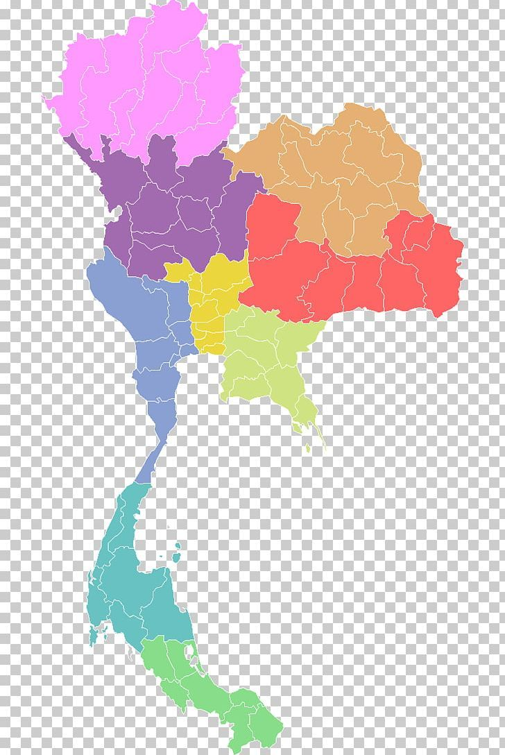 Provinces Of Thailand Map Png Computer Icons Flag Of Thailand Geography Map Provinces Thailand Map Map Geography Map