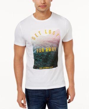 Hugo Boss Orange Men's Graphic Print T-Shirt - White XXL