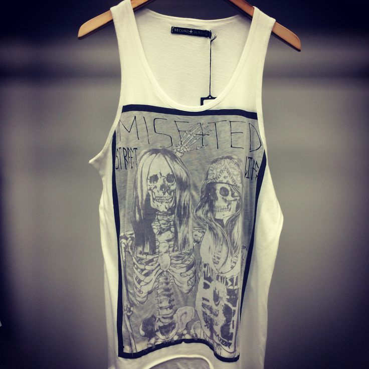 Second Sunday MISFITTED TANK By alexis Rosario printed at A+I silkscreen and Studio