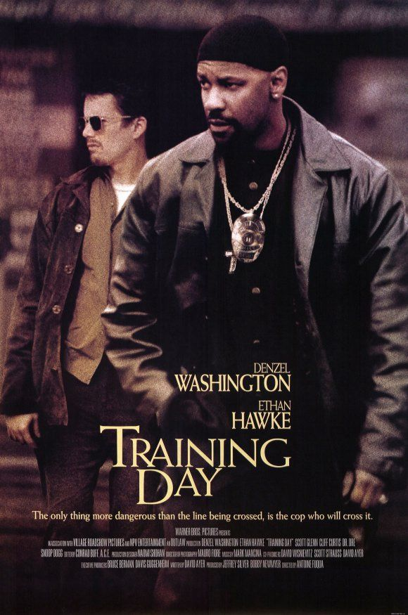 Training Day, movie poster                              …                                                                                                                                                                                 More