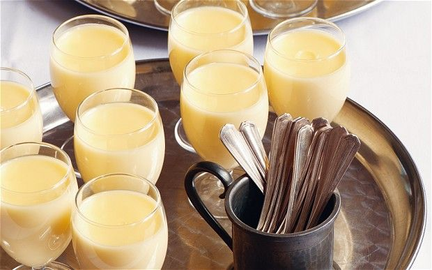 Lemon posset  BBC recipe here : http://www.bbc.co.uk/food/recipes/lemonpossetwithlemon_85812