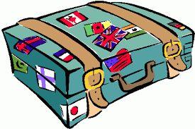 Znalezione obrazy dla zapytania walizka  clipart