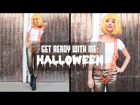 Get Ready With Me: Halloween - YouTube