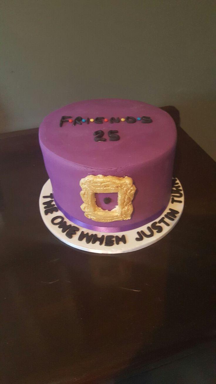 Tv series Friends cake