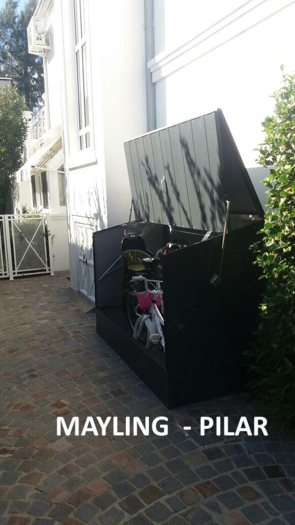 $14.500 Guarda Bicicletas de Acero Recubierto en PVC Marca Trimetals. Caso de Exito instalado en Country Mayling - Pilar Bs.As.  Producto Nuevo Precio no incluye IVA