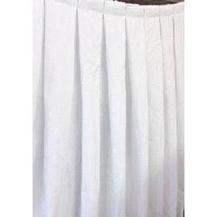 Mini Matt Box Pleat Table Skirt for R75.00 www.bidorbuy.co.za