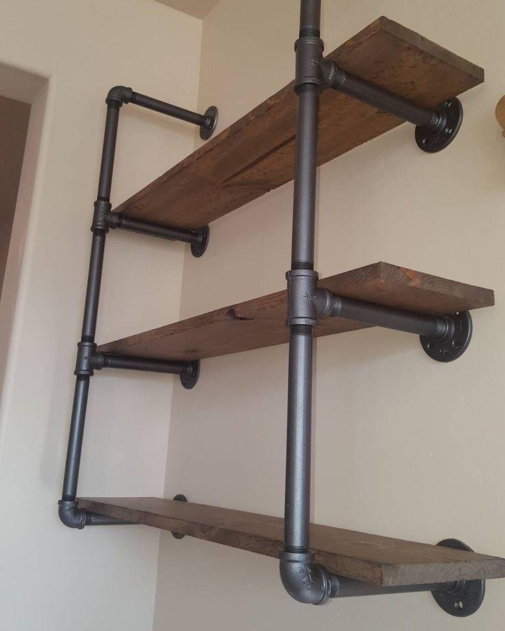 Best 25+ Pipe shelves ideas on Pinterest | Diy pipe ...
