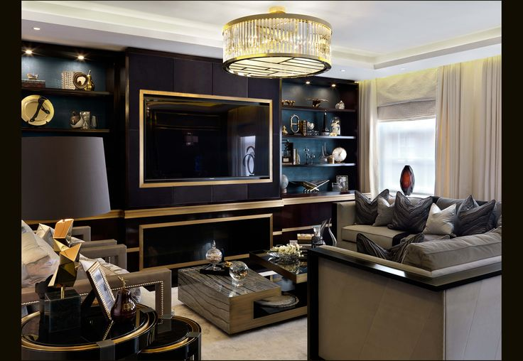 Interior designers in london katharine pooley luxury for Top interior design companies london