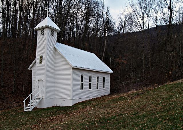 little white church, North Carolina