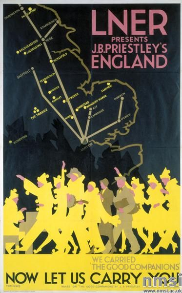 J B Priestly's England - L.N.E.R. Poster, Tom Purvis