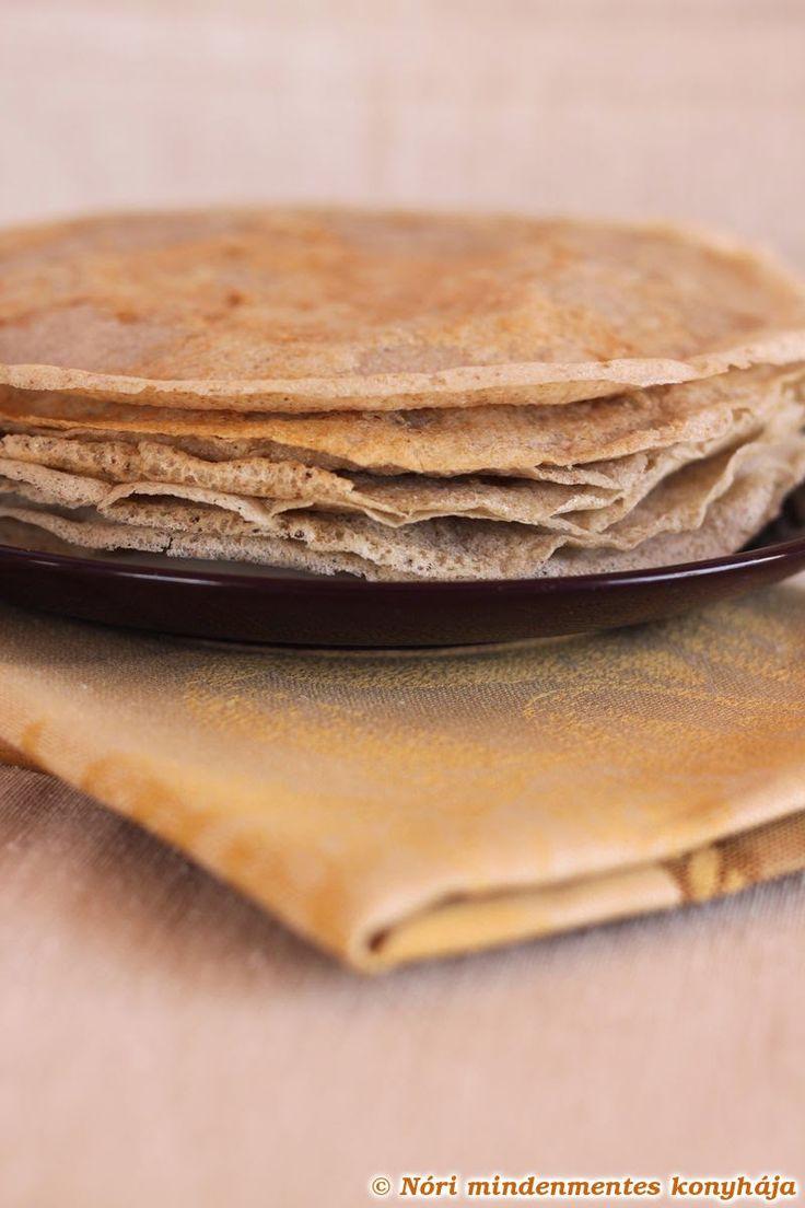 Nóri mindenmentes konyhája: Hajdinapalacsinta újratöltve: hajszálvékony gluténmentes, tojásmentes, vegán galette