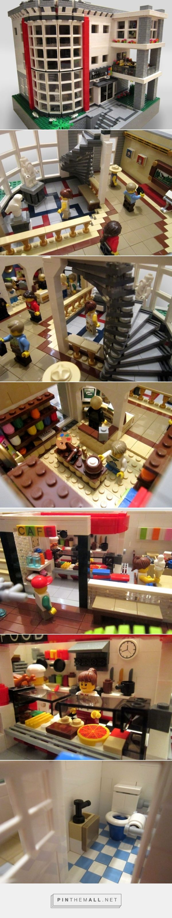 LEGO Ideas -      Art Gallery - created via http://pinthemall.net