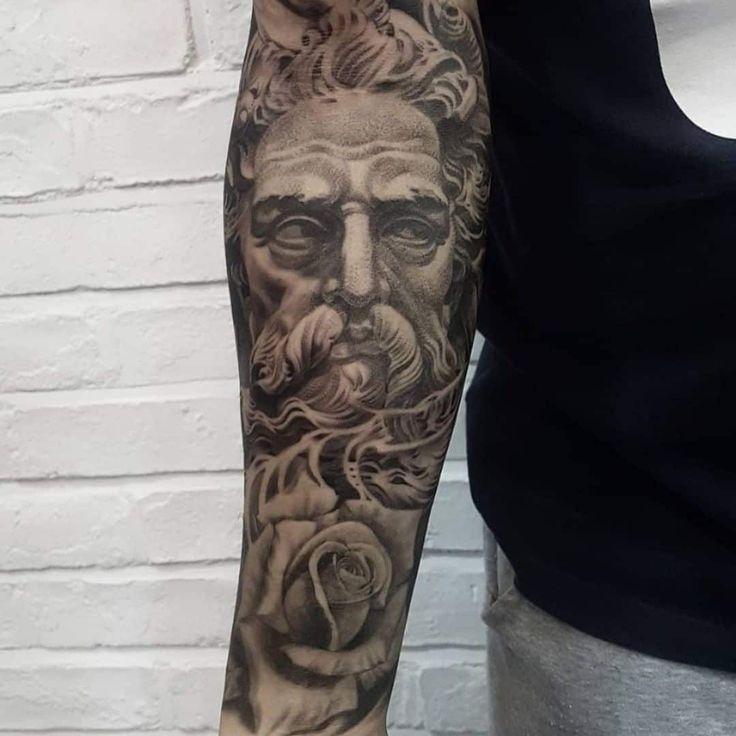 101 amazing poseidon tattoo ideas you need to see in 2020